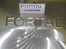 3.750 x 3 7/8 x 24 Fortal HR T651  Aluminum Plate #7356