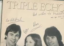 TRIPLE ECHO LP ALBUM