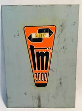 Mic tm 2000 Vintage Metal advertisement sign panel werbeschild reclame bord