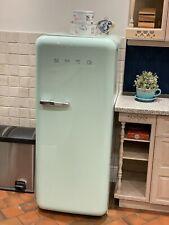 Smeg Fringe Freezer Pastel Green