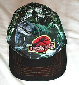 Jurassic world / Park Baseball Hat Velociraptor Snapback Kids One Size