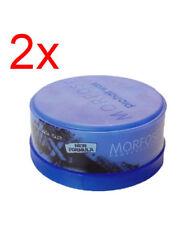 Morfose Extra Aqua Gel Hair Wax Bubblegum scent 150ml BLUE TUB PCK 2