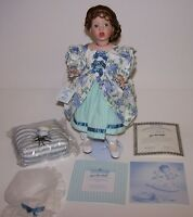 "Little Miss Muffet Porcelain 15"" Doll Ashton Drake w/COA 4741FA Wendy Lawton NIB"