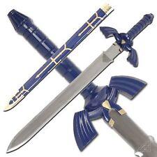 """Full Steel Legend Of Zelda - Twilight Princess Replica master Sword 42"""" Sharp"""