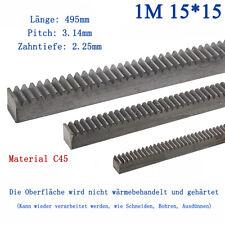 Zahnstange 2m 22 x 22 mm Modul 4
