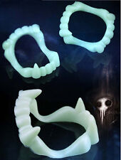 5PCS Glow in the Dark Vampire Teeth New Fang Hot Kids Halloween Costume Fangs