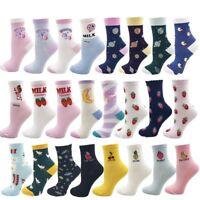 Kawaii Women Socks Cute Soft Cotton Cartoon Funny Girl Gift Unicorn Sweet Ankle