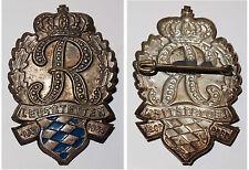 Broschen-Anstecknadel R Leutstetten 1869 - 1954 Verm. 85 J. Rupprecht von Bayern