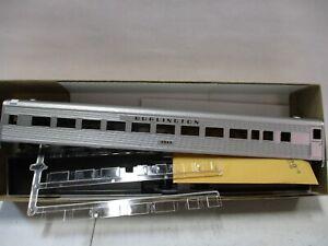 Athearn Burlington SL Coach HO Scale Lot 2