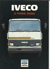 FORD IVECO 13 TONNE RIGIDS LORRY TRUCKS SALES BROCHURE 1988
