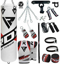 RDX Punching Bag Boxing Standing Chains Mitts Gloves Training MMA AU