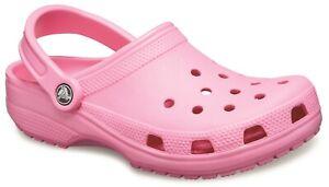Crocs Unisex Classic Clog Pink Lemonade
