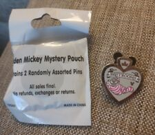 DLR 2017 Hidden Mickey Signs Cheshire Restroom Completer Disney Pin