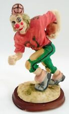 1960s Signed Hands #31 Creepy Scary Football Player Running Back Clown Figurine