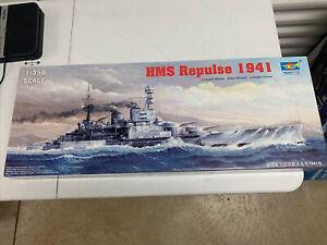 1/350 Trumpeter #05312 HMS Repulse 1941