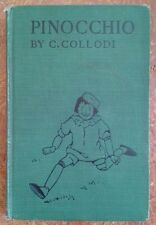 """""""Pinocchio The Story Of A Puppet"""" Antique Hc First Edition Novel by C. Collodi"""