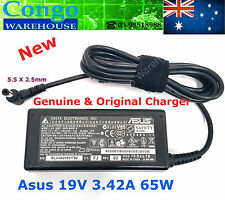 Genuine 19V 3.42A AC Adapter Power Supply Charger For ASUS  65W + Power Cord