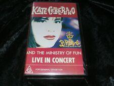 KATE CEBERANO BRAVE LIVE IN CONCERT ~VHS VIDEO PAL~ A RARE FIND
