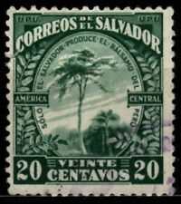 [Z5] Salvador 1924 Mi 427 Balsam of Peru tree