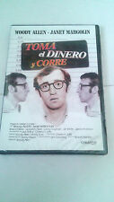 """DVD """"TOMA EL DINERO Y CORRE"""" PRECINTADA WOODY ALLEN"""