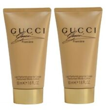 GUCCI PREMIERE PERFUMED BODY LOTION 100ML (2 x 50ml) LADIES TRAVEL SIZE NEW