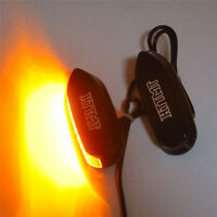 HTTMT LED Signal Black Mirror Block Off Base Plate For Suzuki 05-08 GSXR1000 06-