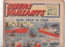 COEURS VAILLANTS 1942 n°44. Hergé. Tintin Le crabe aux Pinces d'Or.
