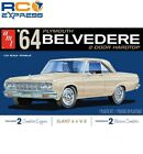 AMT 1/25 1964 Plymouth Belvedere w/ Straight 6 Engine AMT1188M