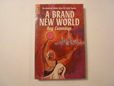 A Brand New World, Ray Cummings, Ace Paperback, 1964