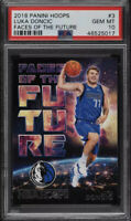 POP 7 PSA 10 RC Luka Doncic 2018-19 Hoops Faces of the Future Rookie Insert QTY