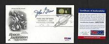 John Glenn signed cover autographed PSA Authenticated Mercury NASA Astronaut