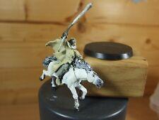 Classic METAL LOTR Gandalf el blanco a caballo Shadowfax Pintado (3112)