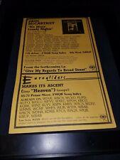 Paul McCartney/Eurogliders Rare Original Radio Promo Poster Ad Framed!