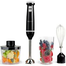 3 in 1 600W Electric Immersion Hand Blender Mixer Chopper Grade A Refurbished