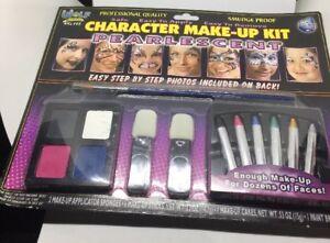 Wolf Novelties Character Makeup Kit Pearlescent Halloween Written instructions