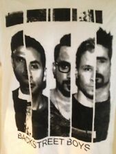 Backstreet Boys World Like This Tour 2014 Large T Shirt Pop Out Of Print Rare
