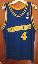 CHRIS WEBBER youth lrg basketball jersey Golden State Warriors power forward NBA