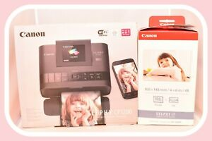 ❤️Canon Selphy CP1200 Compact Digital Photo Printer with Ink & Paper KP108IN❤️