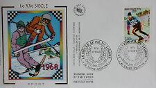 ENVELOPPE PREMIER JOUR - 9 x 16,5 cm - ANNEE 2000 - XXème SIECLE SPORT