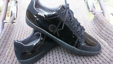 Calvin Klein Shoes Trainers Mens Brillante Negro 44 EU/10 Reino Unido