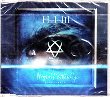 CD MAXI SINGLE HIM wings of a butterfly 4-TRACKS 2005 EU SEALED GOTHIC