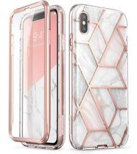 iPhone Xs Max Case, [Built-in Screen Protector] i-Blason Full-Body Bumper Case