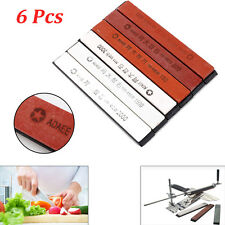 6pcs Sharpening Professional PPolishing Cutlery Sharpener Abrader Kitchen Dining