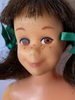 Vintage Skooter Doll Rare With Nighty Night Set and Christmas Dress HTF
