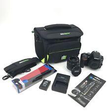 Nikon D3500 24.2 MP Digital SLR Camera w/18-55mm Lens  Shutter Count 628 #U6332