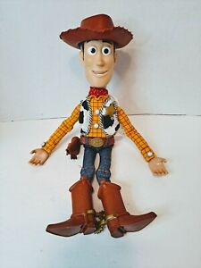 Toy Story Woody Thinkway Signature Collection Talking Doll WORKS No Stand