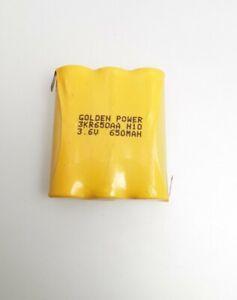 GOLDEN POWER RECHARGEABLE BATTERY PACK 3KR650AA 3.6V 650mAh