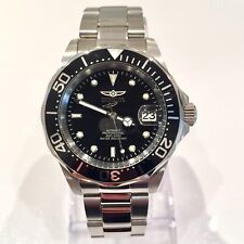Invicta Pro Diver Mens Automatic Seiko NH35A Black Watch 40mm Submariner Homage