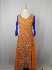 Handmade Chiffon & Lace Beaded Renaissance Peasant Dress #8400