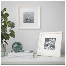 Ikea Knoppang 23 x 23cm Picture Photo Frame thin Edge White Mount. Stylish